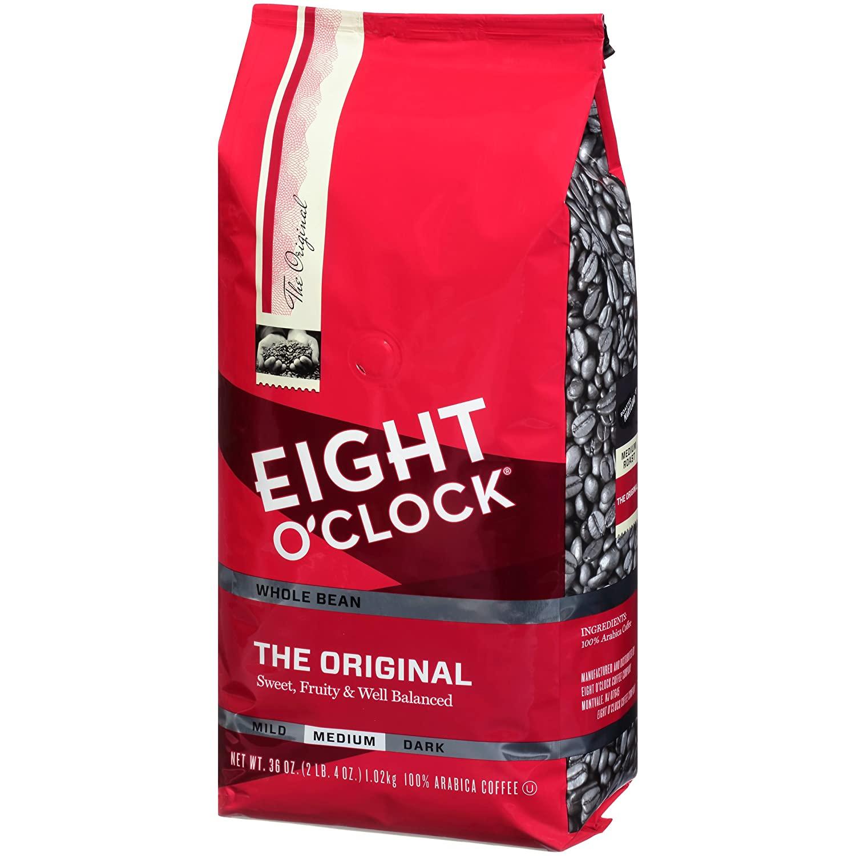 Eight O'Clock Whole Bean Coffee, The Original, 36 Ounce